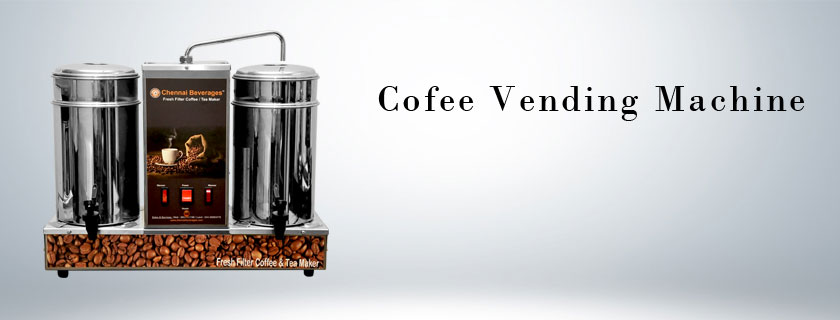 Coffee-Vending-Machines Manufacturer in chennai